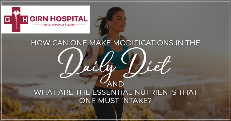 Modifications in the daily Liver diet and what are the essential nutrients that one must intake?